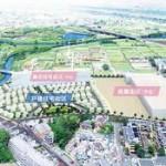 積水化学工業、朝霞市の工場跡地でスマートタウン開発