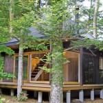 木のいえ一番協会が山梨県にCLT低層住宅実験棟を建設
