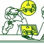 リコー、VR映像をパソコンでも同時に=接客時の全天球イメージ
