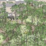 住宅生産振興財団、サトヤマ囲む郊外型分譲住宅を開発中