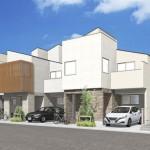 ハウセットが千葉県浦安市分譲住宅、街並み配慮の43棟