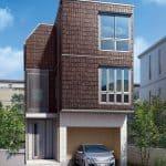 積水化学住宅C=鉄骨系3階建て「デシオ」新モデル、敷地対応力とレジリエンス機能強化
