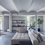 旭化成ホームズ、富裕層向け邸宅第2弾「ラウムフレックス」=円柱とアーチ天井を新提案、普遍的デザイン追求